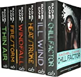 Rachel Caine Weather Warden Collection 6 Books Set Pack RRP £41.94 ( Chill Factor, Windfall, Ill Wind, Heat Stroke, Firestorm, Thin Air ) (Rachel Caine Collection (Weather Warden Series))