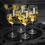 51NmJIbkpzL. SL160  Personalized White Wine Quartet