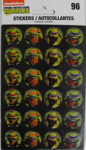 Nickelodeon Teenage Mutant Ninja Turtles - 96 Stickers Included