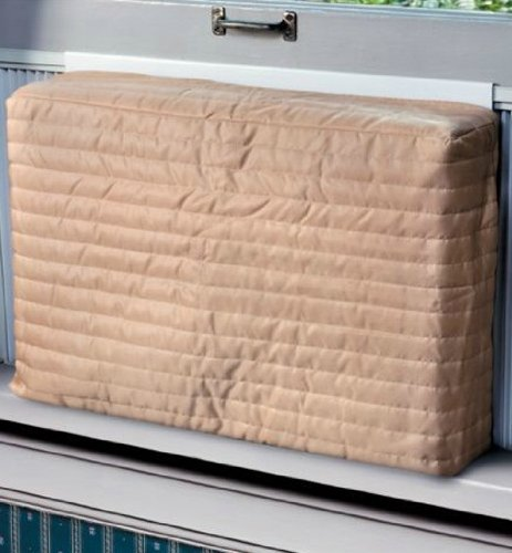 "Laminet Swaddle Indoor Air Conditioner Cover (Beige) (Large - 18 -20""H x 26 -28""W x 2""D)"