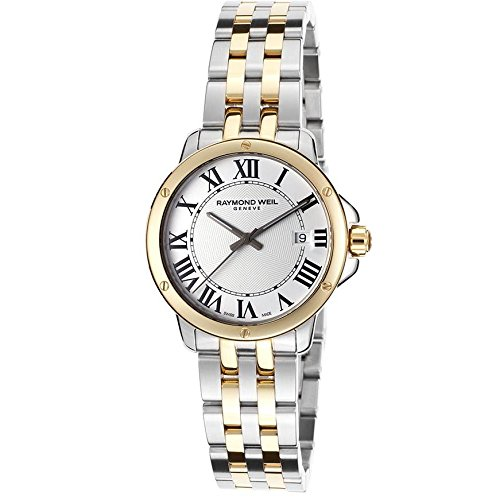 Raymond Weil 5391-STP-00300 32mm Steel Bracelet & Case Anti-Reflective Sapphire Men's Watch