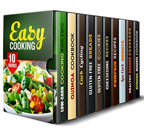 Easy Cooking Box Set (10 in 1): Healthy and Easy Recipes to Boost Your Energy (Low-Carb Easy Meals) by Julia White, Peggy Carlson, Vanessa Riley, Courtney Banks, Melissa Castro, Melissa Hendricks, Nina Craig, Sheila Hope, Janet Hicks, Jessica Meyers