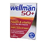 Vitabiotics Wellman 50+, 30 tablets