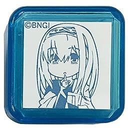 タニエバー アイドルマスター シンデレラガールズ スタンプ 鷺沢文香 TSK-75087 ブルー