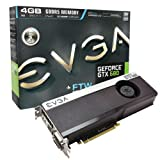 CE - EVGA GeForce GTX 680 FTW 4096MB GDDR5, DVI, DVI-D, HDMI, DisplayPort, 4-way SLI Ready Graphics Card (04G-P4-3687-KR) Graphics Cards 04G-P4-3687-KR