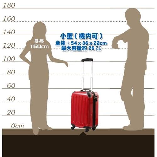モア 超軽量ファスナータイプスーツケース 機内持込可能サイズ N6260-SS メタルゴールド