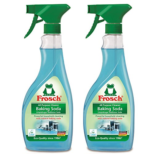 Frosch Natural Baking Soda Multi-Surface All Purpose Cleaner Spray, 500ml (Pack of 2) (Bicarbonate Of Soda For Cleaning compare prices)