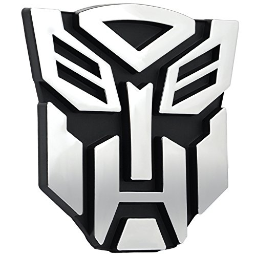 Logo, badge adesivo Transformers, Autobots da appliucare all'automobile.