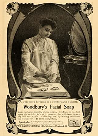 Woodbury facial soap think