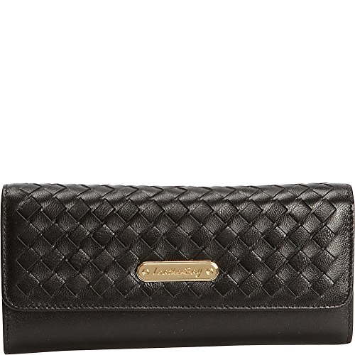 leatherbay-tri-fold-clutch-with-weaved-flap-black