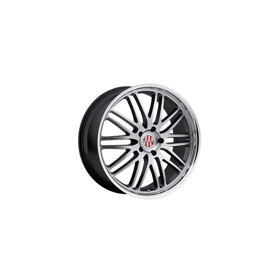 19x11 Victor Lemans (Hyper Silver w/ Mirror Lip) Wheels/Rims 5x130 (1911VIL255130S71)