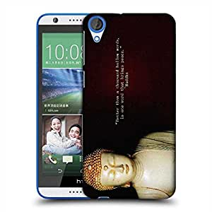 Snoogg Buddha Wallpaper Designer Protective Phone Back Case Cover For HTC Desire 820