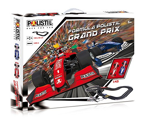 Polistil 960000 - Formula Racing Set, Contiene 2 Veicoli, in Scala 1:43
