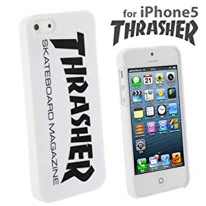 Amazon.com: Thrasher Hard iPhone 5 Case (White): Cell