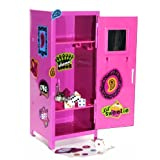 Girl Talk PINK Mini Locker With Magnets And 5 Bonus Dice