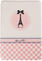 ESR Coque iPad Mini, Housse de Protection pour iPad Mini 1,iPad Mini 2, iPad Mini 3 - Illustrators Series (Tour Eiffel)