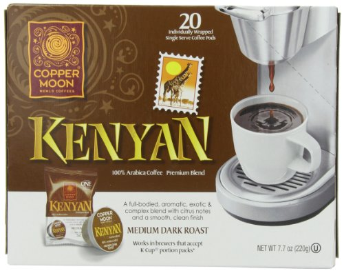 Copper Moon Aroma-Cup, Kenyan, 20 Count, 7.7 Oz
