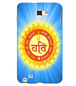 Fuson Premium Wahey Guru Printed Hard Plastic Back Case Cover for Samsung Galaxy Note 1 i9220 N7000
