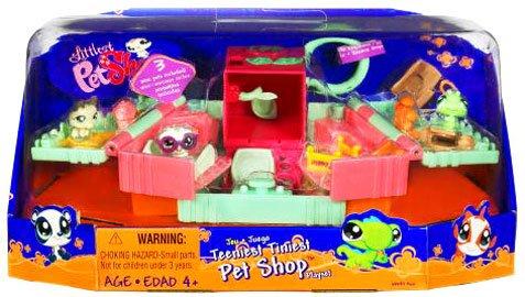Buy Low Price Hasbro Littlest Pet Shop Teeniest Tiniest Mini Figure 3-Pack Training School (Dog, Owl and Caterpillar) (B001W22X1O)