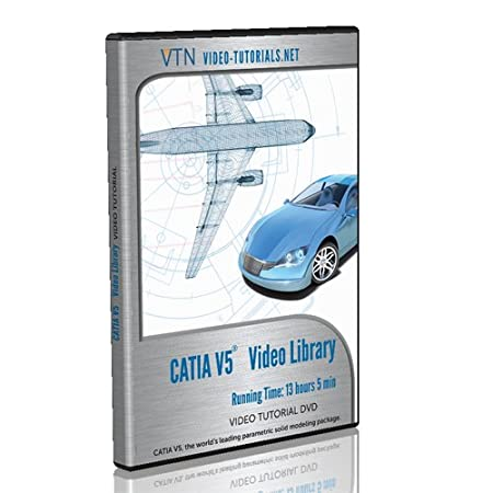 CATIA V5 Video Tutorial DVD
