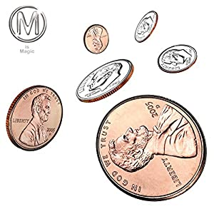 Double Face Coin Penny to Dime **FOR PROFESSIONAL MAGICIANS ONLY***