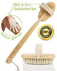 Best Dry Body Brush & Wet Exfoliating…