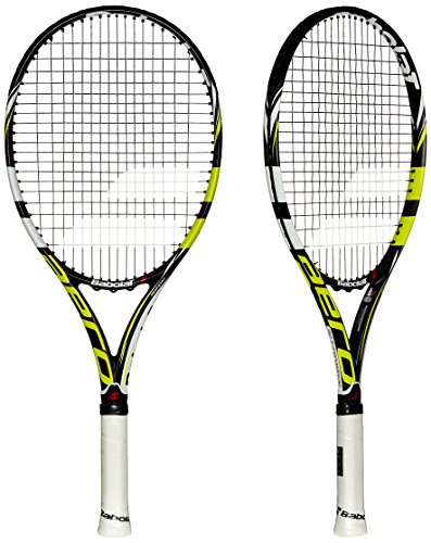Babolat AeroPro Drive Junior 26 GT Tennis Racquet Strung, Grip 1 (Yellow\/Black) (multicolor)