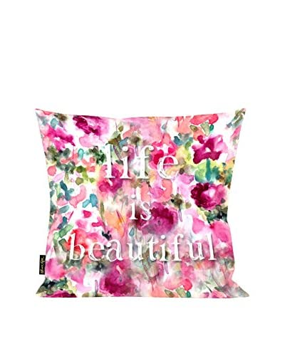 Oliver Gal Life Is Beautiful 18 Pillow