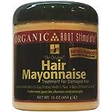 Organic Root Stimulator Hair Mayonnaise Treatment, 16 Oz (Pack Of 1)