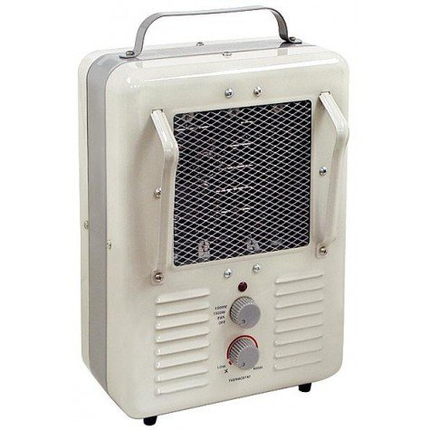 Portable 1500 Watt Electric Greenhouse Heater Fan, For Any Kinds of Plants, Affordable Utility Winter Heater, With Low and High Adjusting Knobs, and Sturdy and Stylish Design. (Green House With Heater compare prices)