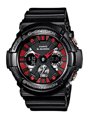 G-SHOCK G-SHOCK MENS GA-200SH-1A Sports Watch BLACK by Casio