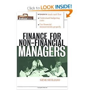 Finance for Non-Financial Managers (Briefcase Books Series) (Paperback)