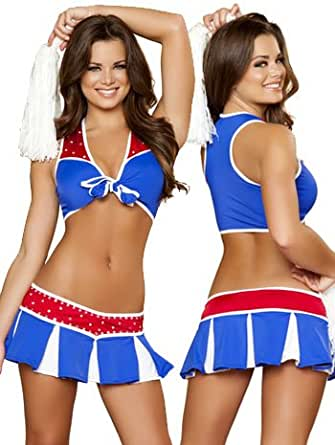Roma Women's Charming USA Cheerleader Costume