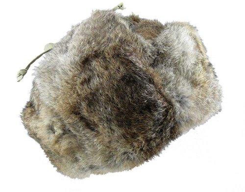 Echte Fellmütze aus Kaninchen Fell!, Größe:XL