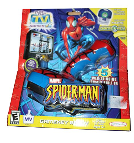 Tv Games Plug And Play : Marvel spider man plug n play tv game electronics games