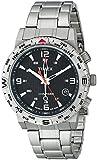 Timex Men's T2P289 Intelligent Quartz Adventure Series Stainless Steel Compass Watch