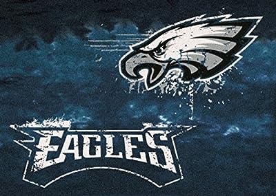 Milliken Philadelphia Eagles NFL Team Fade Area Rug