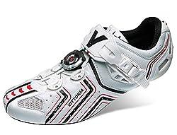Vittoria Hora Cycling Shoes, White, 39 EU/7 D US