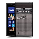 Head Case Designs Grey Distortion Guitar Amp Protective Snap on Hard Back Case Cover for Nokia Lumia 720