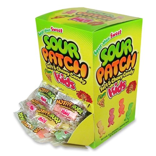 Sour Patch Kids 240 Count Individually Wrapped