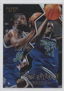 [Missing] Minnesota Timberwolves (Basketball Card) 1996-97 Fleer Game Breakers #9 by Fleer