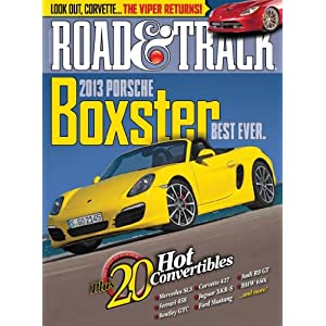 Road &amp; Track Magazine
