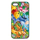 Winnie the Pooh Eeyore Piglet Custom Printed Design Durable Case Cover for Iphone 5 5S