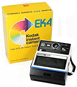 Kodak EK4 Instant Camera, In Original Box - VINTAGE