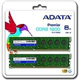 ADATA AD3U1600W4G11-2 DDR3-1600 4GB×2(計8GB)デスクトップ用 240pin DIMM