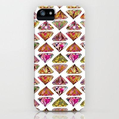 Society6/ソサエティシックス iPhone5/5Sケース ダイアモンド these_diamonds_are_forever