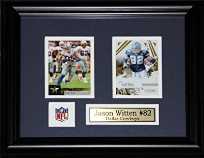 Jason Witten Dallas Cowboys 2 card frame