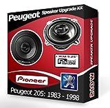 Peugeot 205 Rear Pillar Speakers Pioneer 5.25