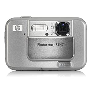 HP Photosmart R847 8MP Digital Camera with 3x Optical Zoom