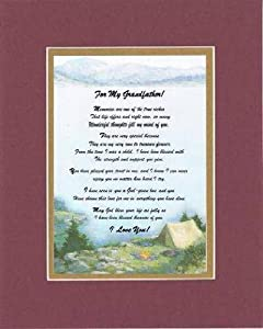 Amazon Com Touching And Heartfelt Poem For Grandparents